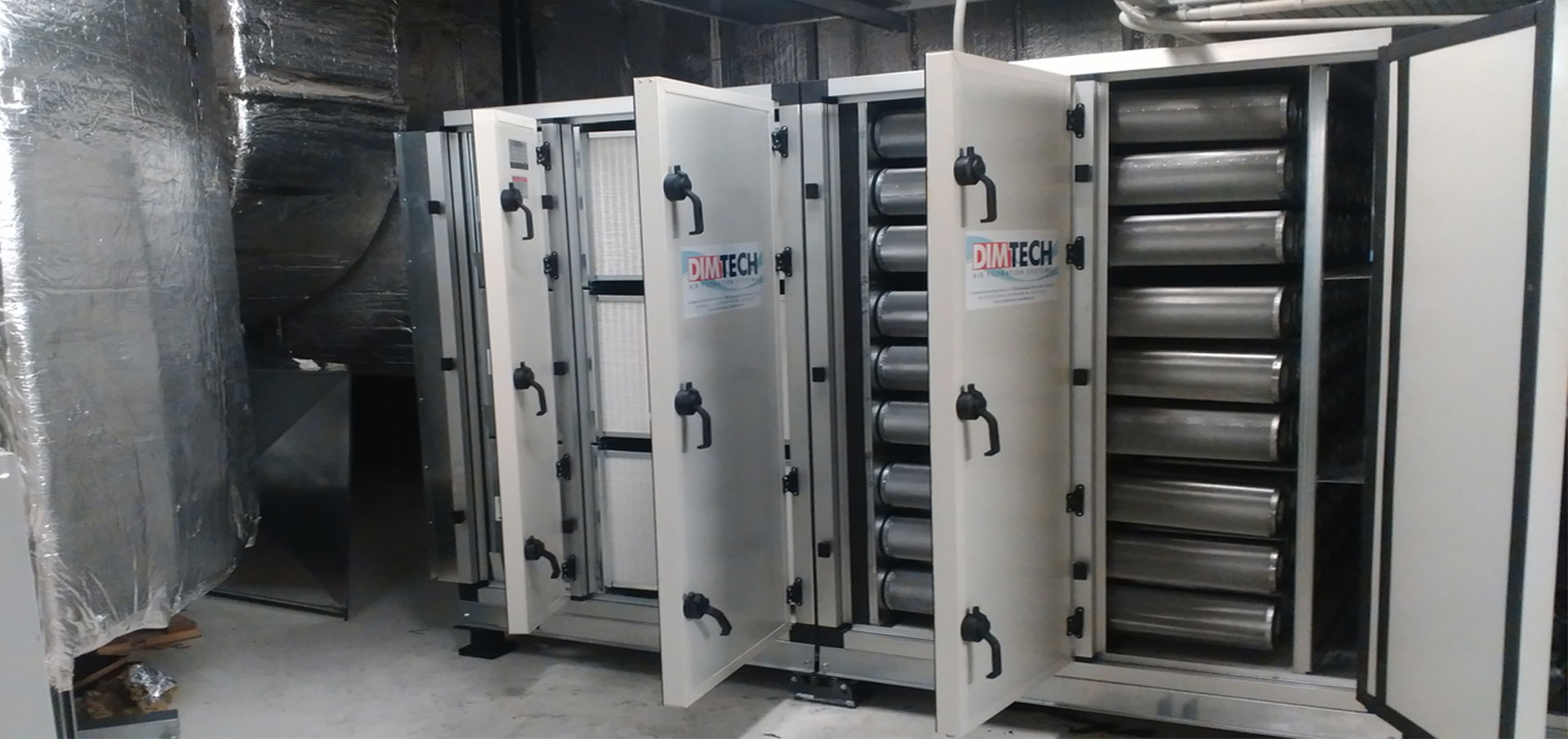 Custom made air filtration systems
