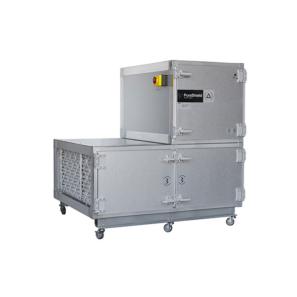 Σύστημα απολύμανσης αέρα Purashield