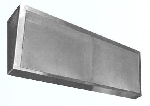Wall mounted HEPA filter housings