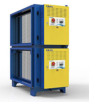 Βιομηχανικά ηλεκτροστατικά φίλτρα (ESP)