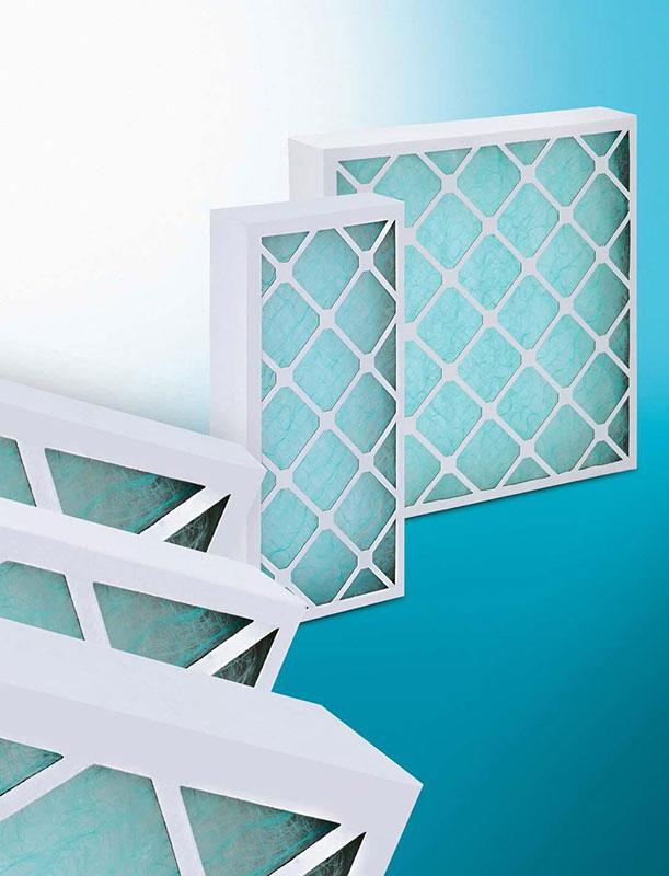 Cardboard panel filters