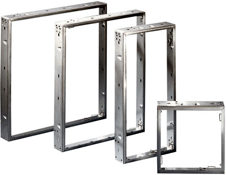 Universal filter frame supports