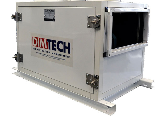 Activated carbon filter boxes