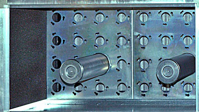 Base plates for cylinders (cartridges)